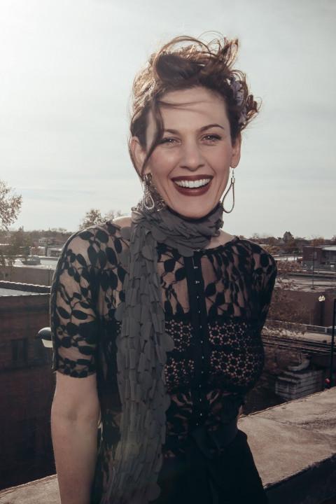 A portrait of Rachel DeWoskin