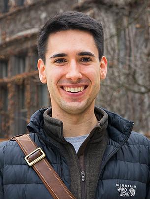 A portrait of Kirk Lancaster