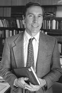 Portrait of David Oxtoby.