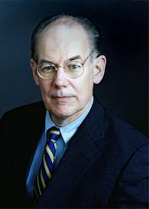 Portrait of John J. Mearsheimer.