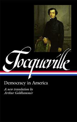 Book jacket of Democracy in America by Alexis de Tocqueville