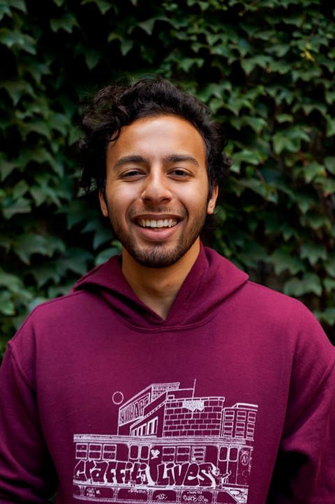 Portrait of Aly Tantawy.