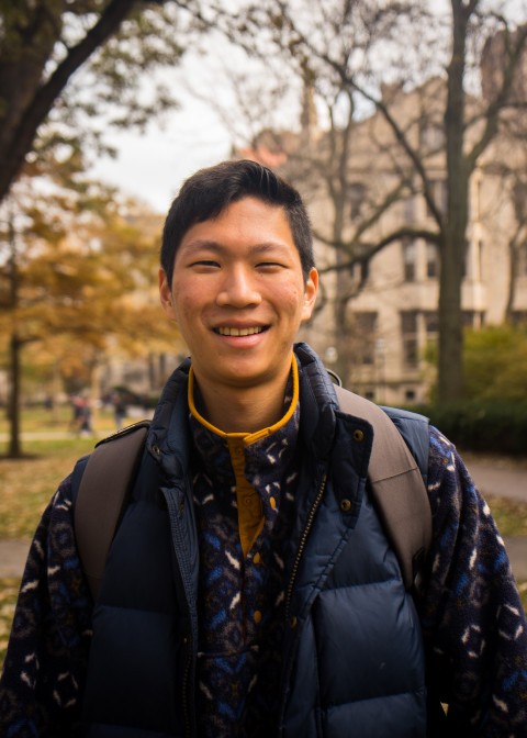 Portrait of Eugene Han
