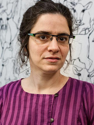 A headshot of Agnes Callard