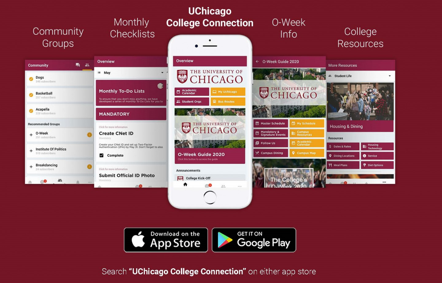 College Connection App