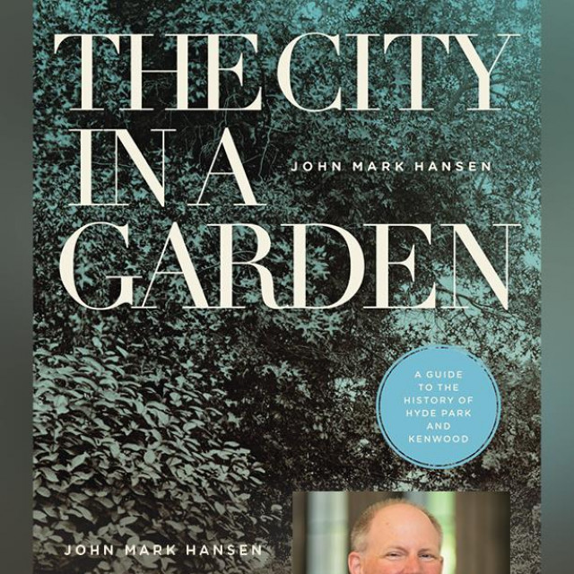 "The cover of Mark Hansen's new book ""The City in a Garden"""