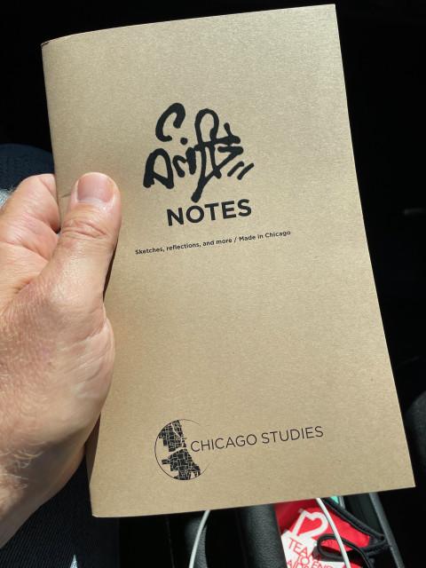 A Drift Notes notebook cover