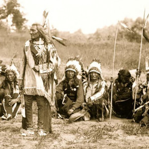 A group of native americans