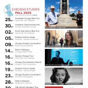 Fall 2020 calendar of events