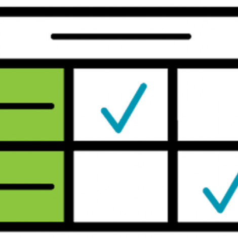 An icon of a generic rubric