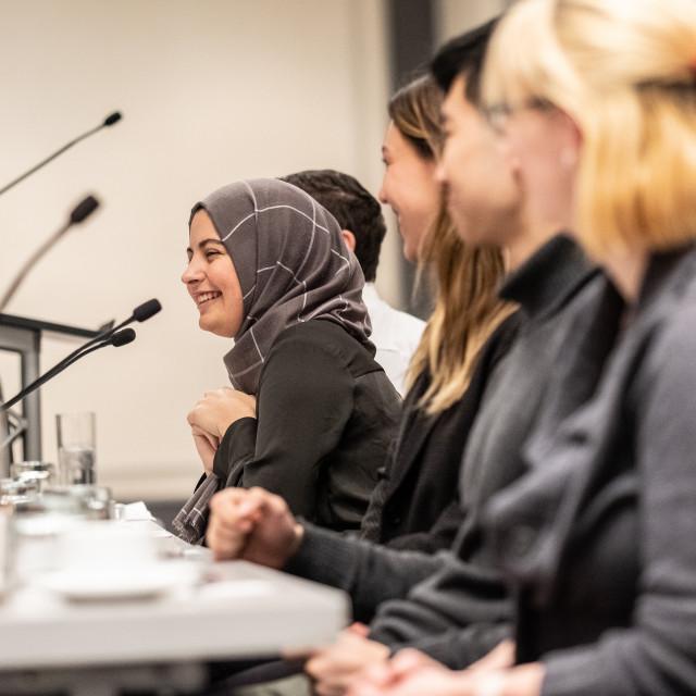 Picture of alumni panel members