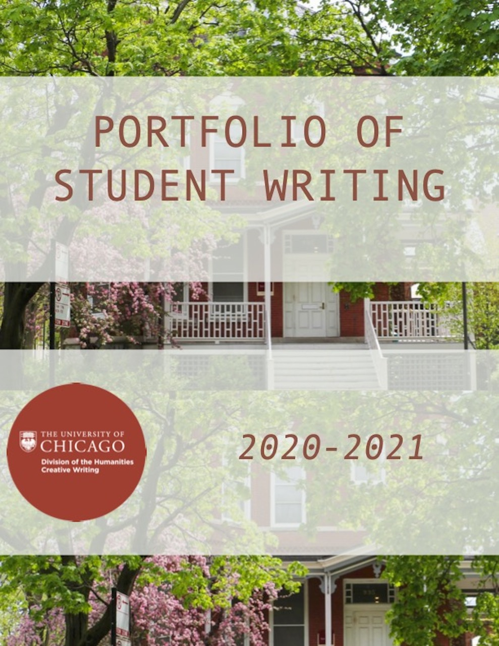 Creative Writing Student Portfolio AY21