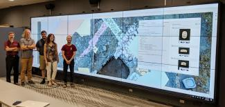 RCC visualization technology in the Kathleen Zar Room