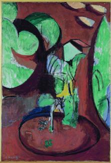 """Henri Matisse, """"Garden at Issy"""", 1917"""