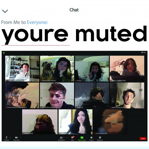 youre muted