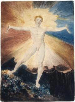 William Blake Albion Rose, c. 1796. Copyright Trustees of the British Museum
