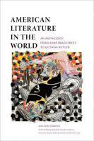 American Literature in the World