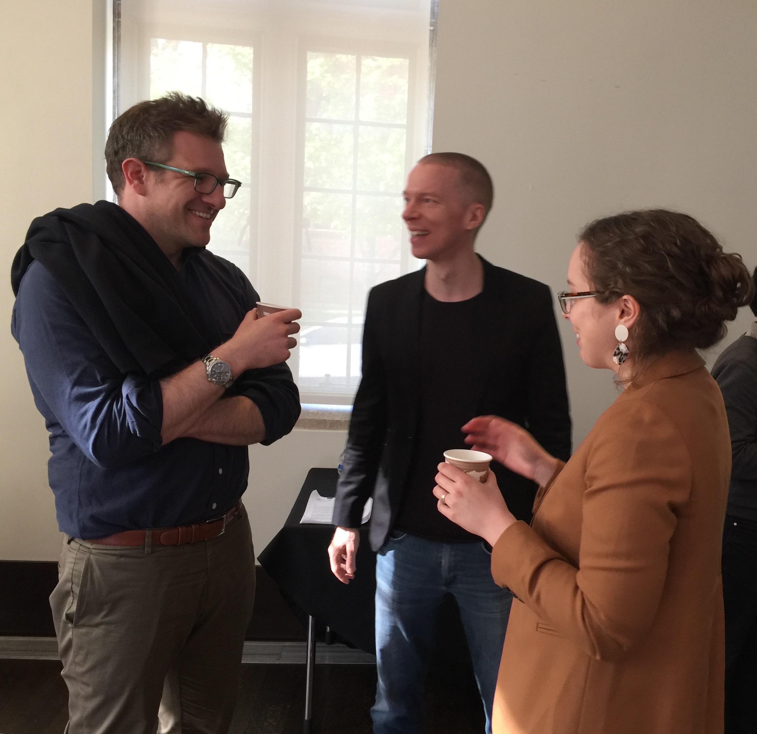 Joel Lande, Florian Klinger, Sophie Salvo