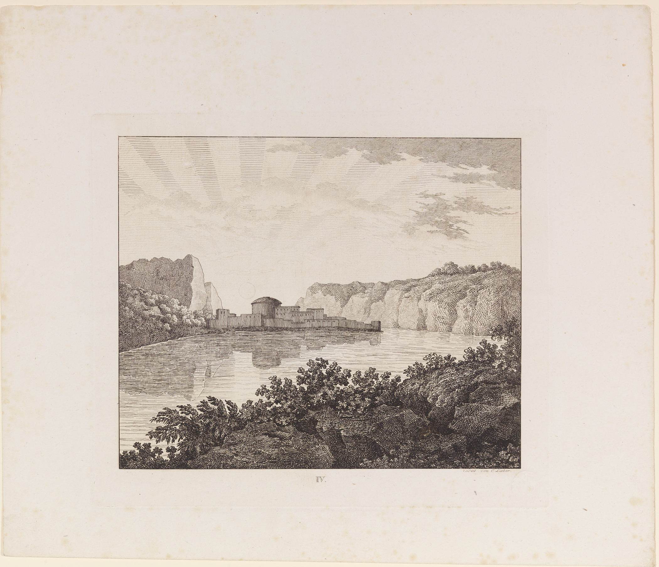 From Six Etchings after Drawings by Goethe, Goethe, Holdermannand, Lieber, 1821