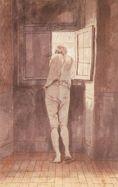 Johann Heinrich Wilhelm Tischbein Goethe in Rome, 1787