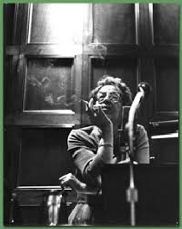Hannah Arendt at the University of Chicago, 1965