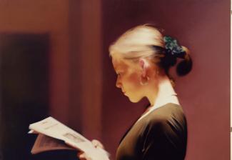 Lesende, Gerhard Richter, 1994 (courtesy of the artist)