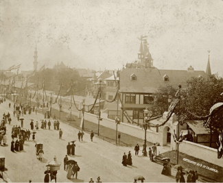 German Village at Columbian Exposition (1893)
