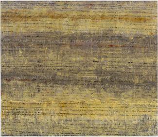 """Brigitte Riesebrodt, """"Schriftbild, Circle"""" (2002). Courtesy of the artist."""