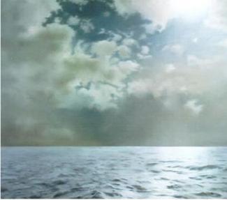 "Gerhard Richter, ""Seestück, Gegenlicht"""