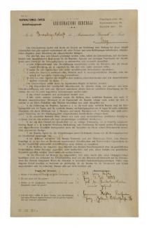 Franz Kafka's employment application