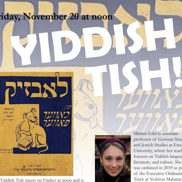 Yiddish Tish