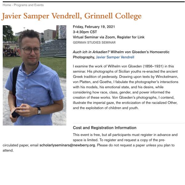 Javier Samper Vendrell