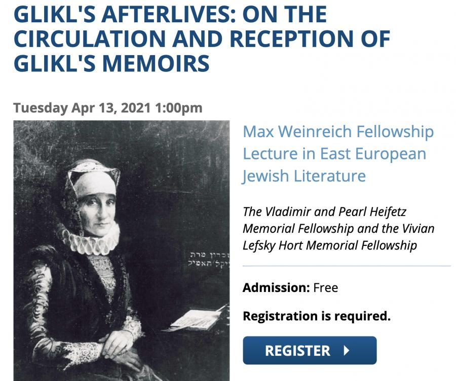 Yivo Institute Lecture