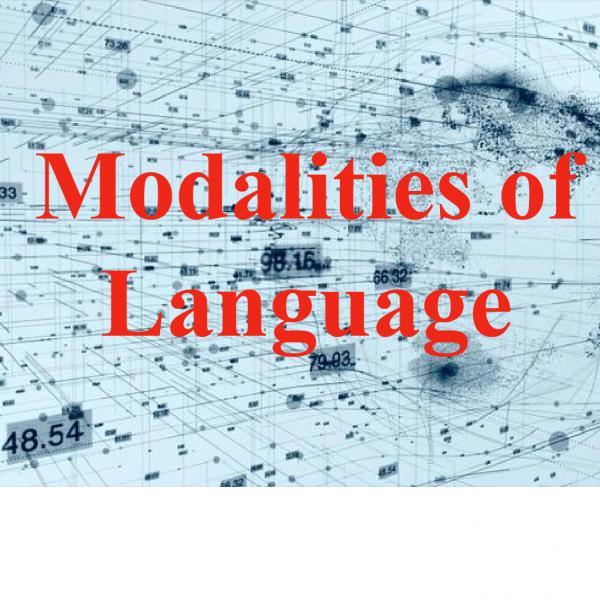 Modalities of Language