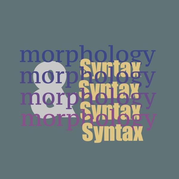 Morphology & Syntax Workshop image