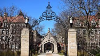 International Applicants page - picture of Quad entrance