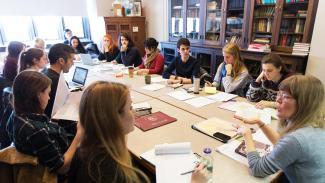 Master of Arts Program in the Humanities seminar photo