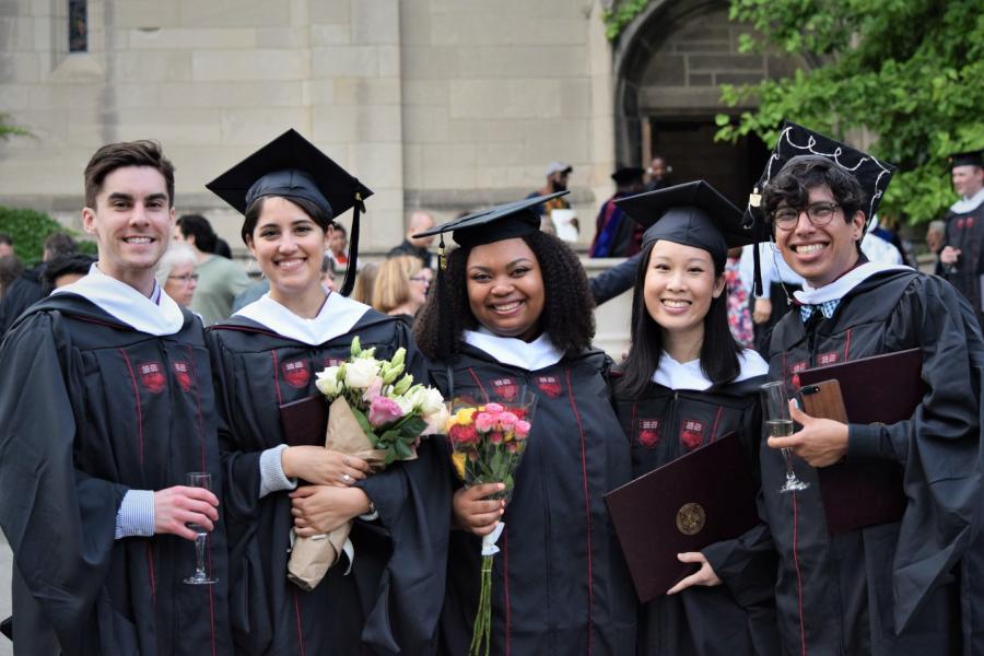 Five 2019 MAPH Graduates
