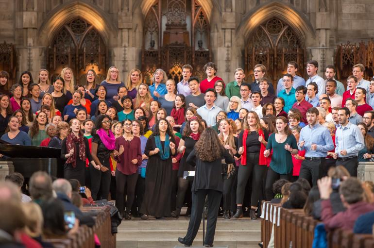University Chorus with Mollie Stone, conductor