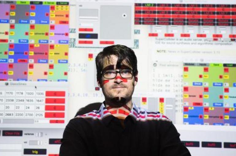 Sam Pluta electronic music