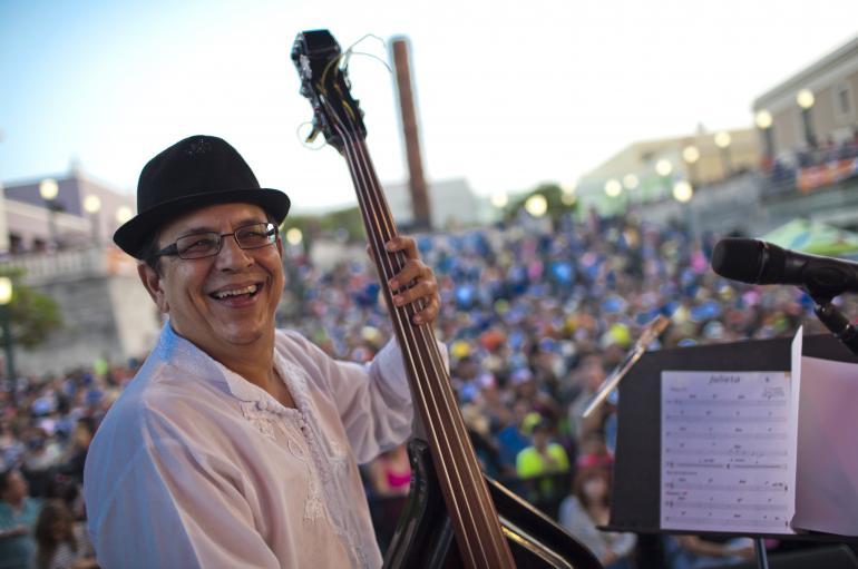 Gary Nunez of Plena Libre