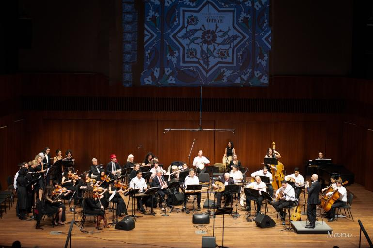 Middle East Music Ensemble in performance