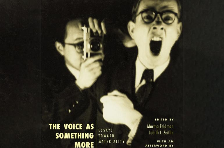 "Cover of ""The Voice as Something More"""