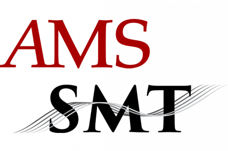 AMS and SMT logos