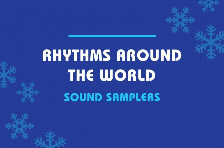 Rhythms Around the World Sound Samplers
