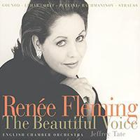 """Cover art for Renée Fleming """"The Beautiful Voice"""""""