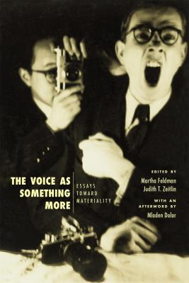"""Cover art or """"The Voice as Something More: Essays toward Materiality"""" edited by Martha Feldman and Judith T. Zeitlin"""