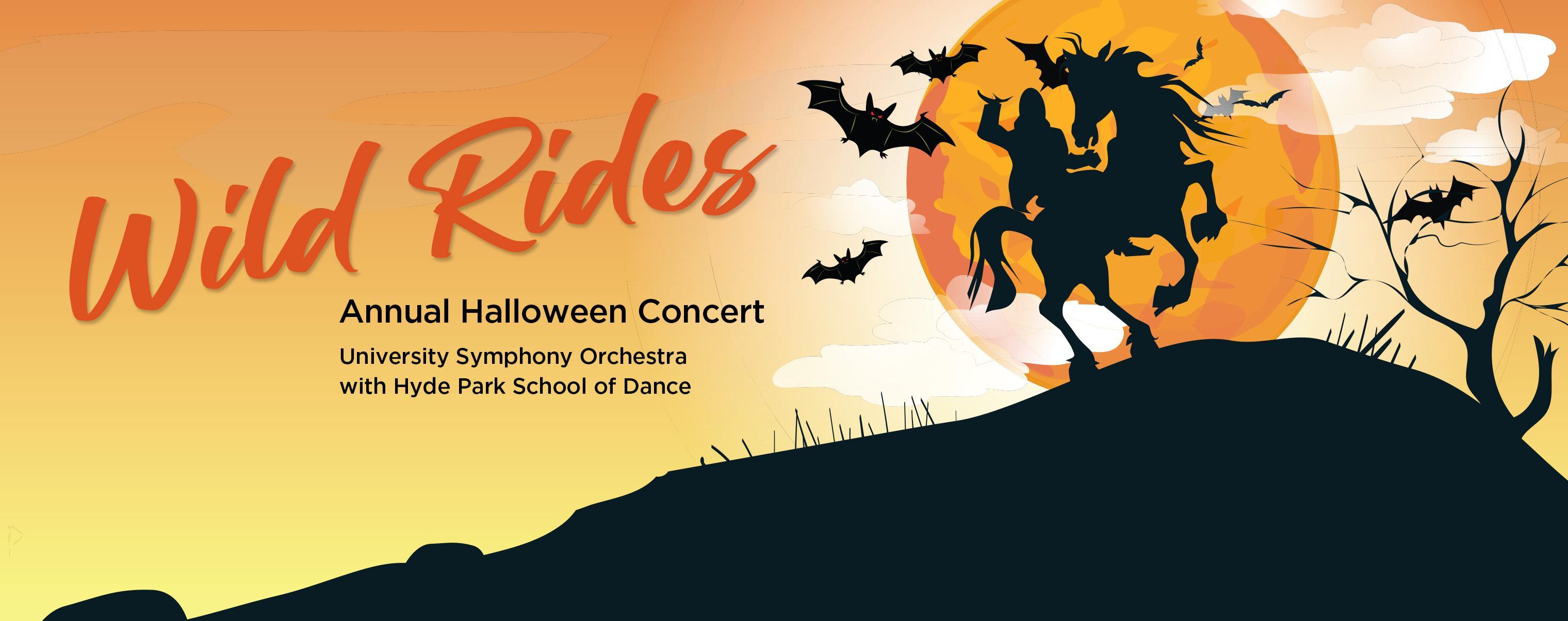 Wild Rides: University Symphony Orchestra Halloween Concert