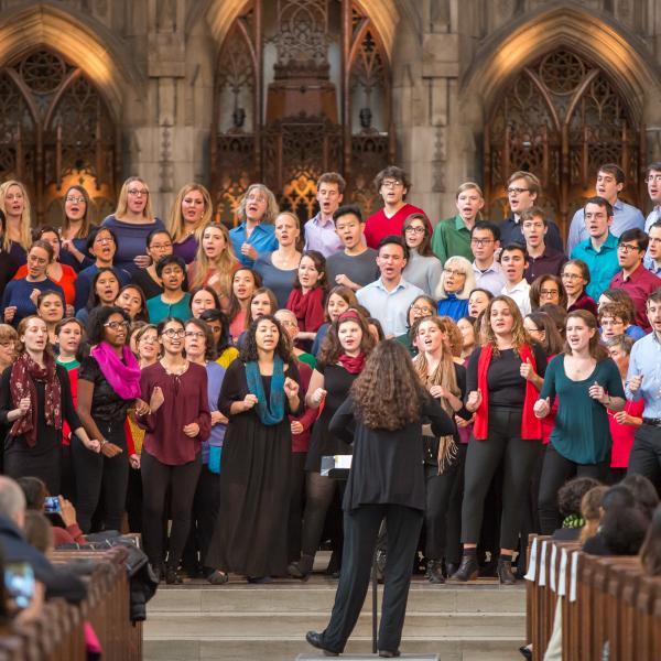 University Chorus with Mollie Stone, conductor