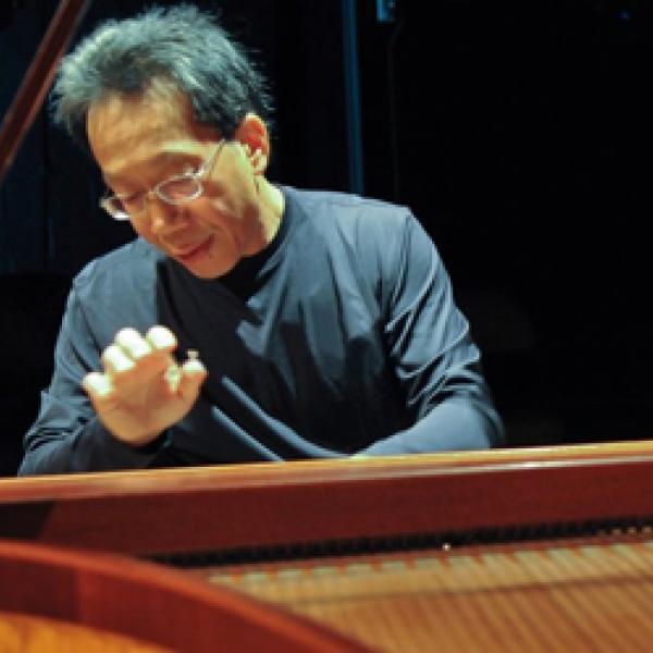 Leslie Tung playing piano